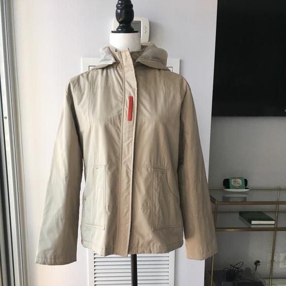 Prada Jackets & Blazers - Prada Beige Nylon Jacket